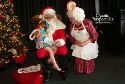 You just can't help but LOVE Santa and Mrs. Claus!