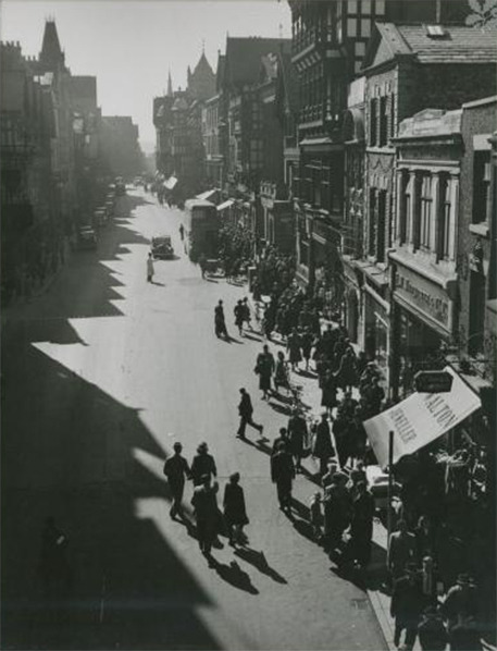 Edward Chambre Hardman From the Eastgate - undated