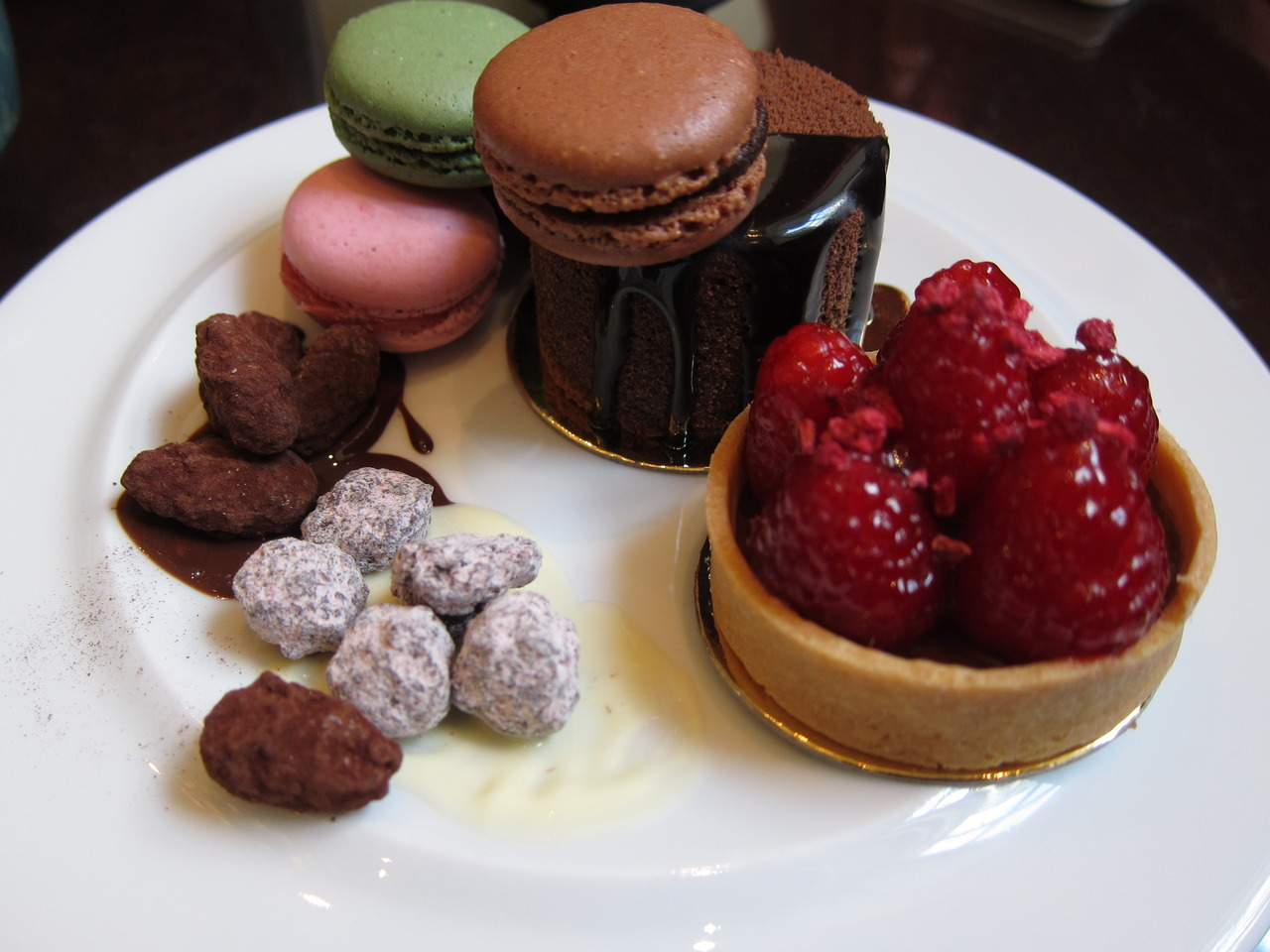 Sweet treats from our chocolate buffet at the Chancery court hotel in London