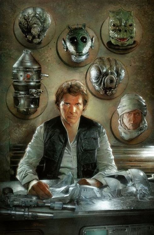 edofthedead:  Han's trophy room