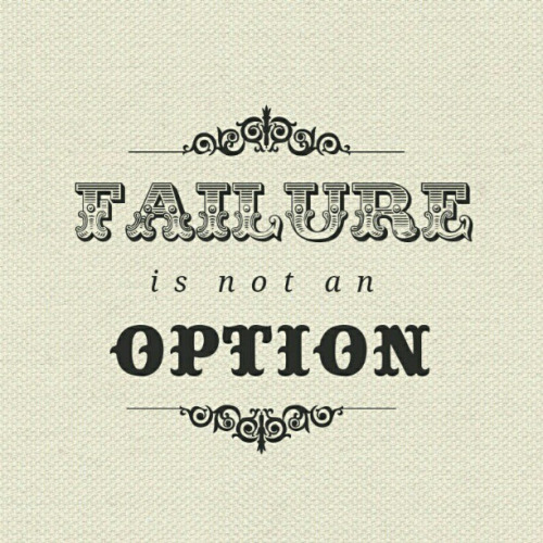 betype:  Failure is not an option