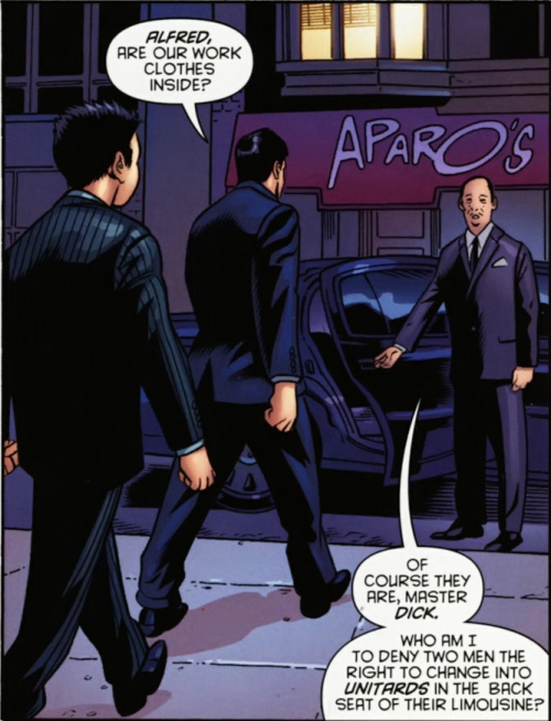 tracylay:  Batman #713Sassy Alfred is sassy.