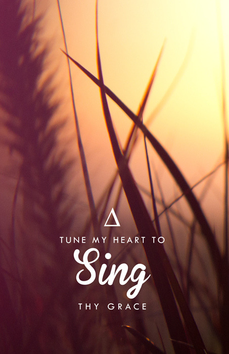 betype:  Tune My Heart - Available to purchase on Society 6 (by Lauren Boebinger)