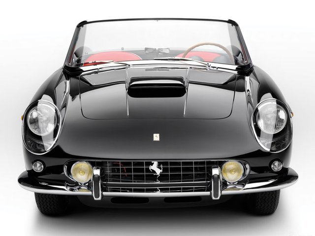 1962 Ferrari 400 SA‏, but I didn't win PowerBall.