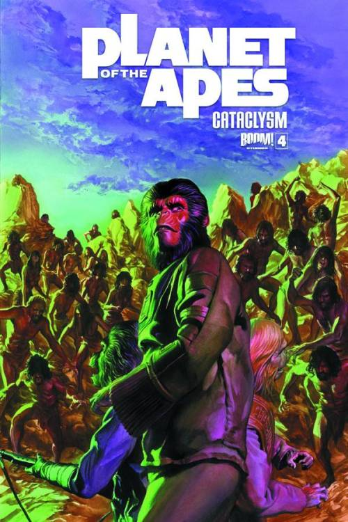 Market Monday Planet of the Apes: Cataclysm #4, co-written by Corinna Bechko  With nowhere left to turn, Zaius must trust the one ape that has the most to hide… As Ape City continue to burn, will Zaius be reunited with his family before the final calamity arrives?  ~Preview~