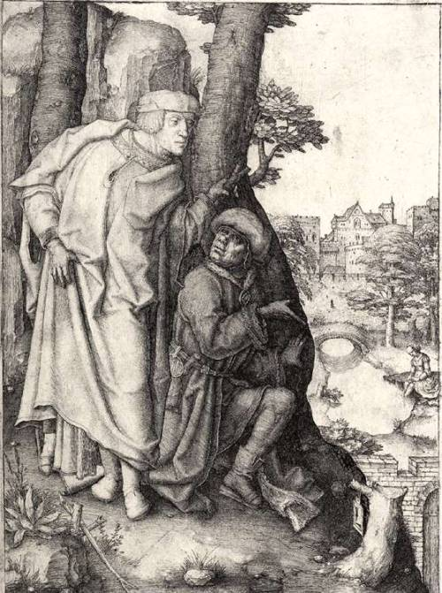 Susanna and the Elders (c. 1508) (Lucas van Leyden)