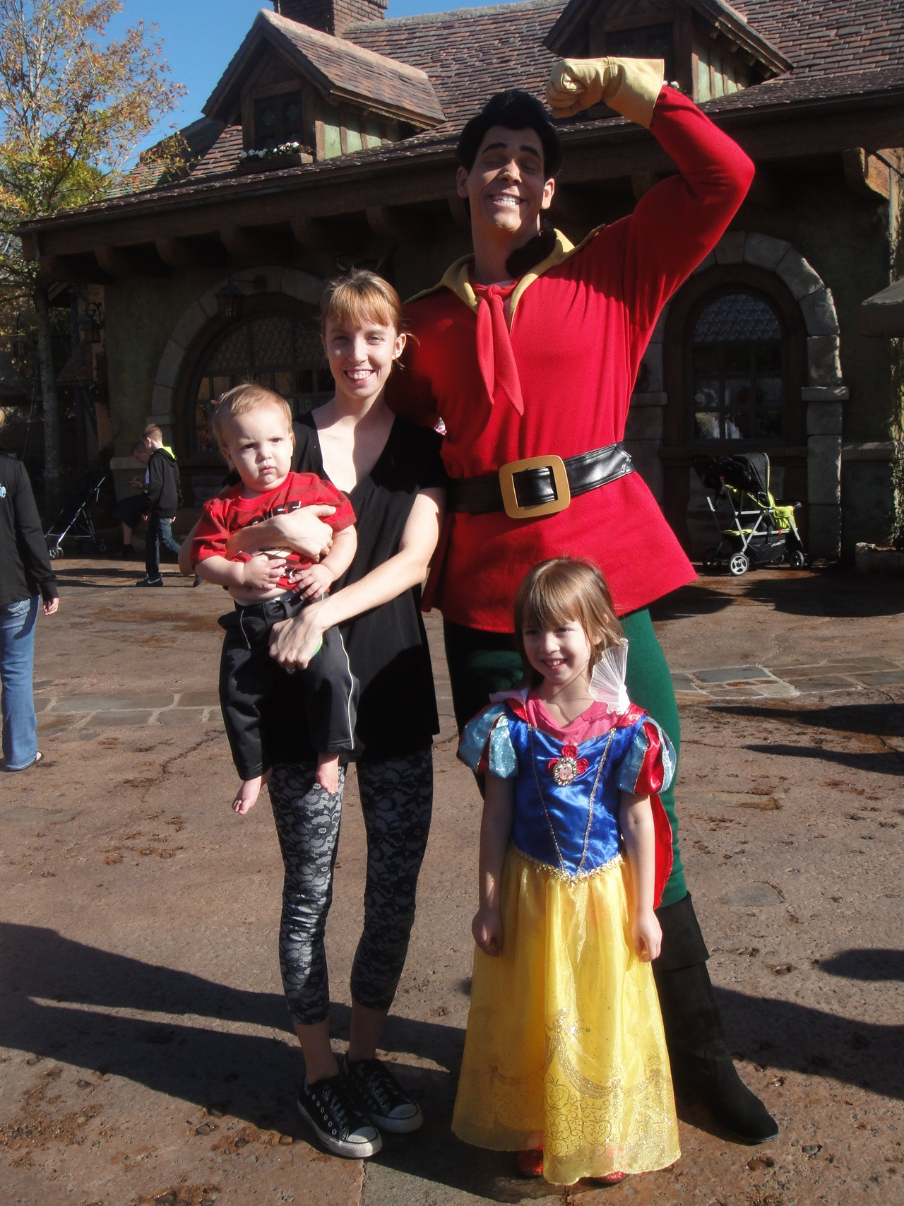 Gaston: Hello princess. And what is your name? My daughter: Iris Gaston: That is a very pretty name, Iris. Want to know an even better name? ….. Gaston