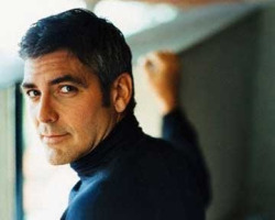 George Clooney . So smart and handsome