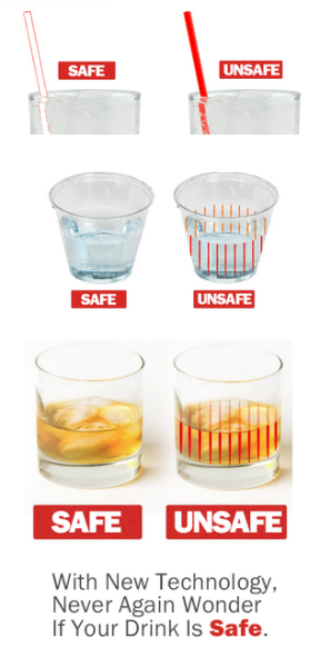 kogiopsis:  xlindziex:  mjolkk:  Drug Rape Prevention: DrinkSavvy Color Changing Drinkware The problem is that date rape drugs are odorless, colorless, and tasteless once they're in your drink.  We all know not to leave our drinks unattended, but the reality is it's impossible to keep an eye on your drink all night.  So what's the solution?  With the help of Dr. John MacDonald, a professor of chemistry at Worcester Polytechnic Institute, and with the help of Contract Researching Organizations, DrinkSavvy is developing material that will immediately change color to warn you if a drug is slipped into your drink.  Great!  But it doesn't stop there.  Together, DrinkSavvy will have the funding necessary to fully develop the material and drinkware directly from this material, such as, Plastic Straws and Stirrers, Plastic Party Cups, and Glassware.         That means discrete, 100% effortless, and continuous drink monitoring throughout the night, because the same drinkware that you are drinking with…is also the color changing material that makes invisible drugs visible. While DrinkSavvy's initial goal is to perfect our design to make our products available online and free to select rape crisis centers, DrinkSavvy's ultimate goal is to use the success of this campaign to convince bars, clubs, and colleges to make DrinkSavvy the new safety standard and eventually make drug-facilitated sexual assault a crime of the past.  So please, back DrinkSavvy to be a part of something that will change the world for the better.  Back DrinkSavvy to be a part of something that has never been done before, and back DrinkSavvy to prevent someone you care about from possibly being the victim of drug-facilitated sexual assault. Thank you all so much in advance, and remember, when you're out drinking, drink smart, drink safe, DrinkSavvy. CONTRIBUTE NOW!  Wow, I'm glad this post actually explains more than the other posts promoting it. I think this is really cool and I'm looking forward to seeing it supported.  Signal boosting this again - they're 20k down and 7 days out, and this project would be really useful.