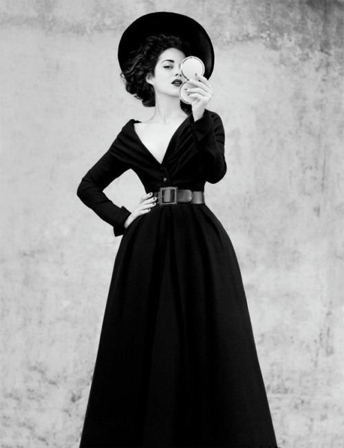 Marion Cotillard by Jean-Baptiste Mondino for Dior #1, fall 2012