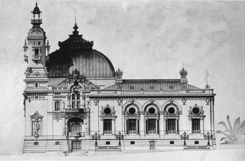 Monte Carlo Casino elevation of the Trente-Quarante Gaming Room circa 1880 Sir Jack's: Gentlemen's Outfitters