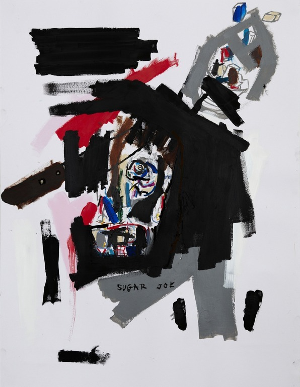 Mathieu Bernard-MartinSugar Joe 2011Mixed media on paper 25.6 x 19.7 x 0.4 in