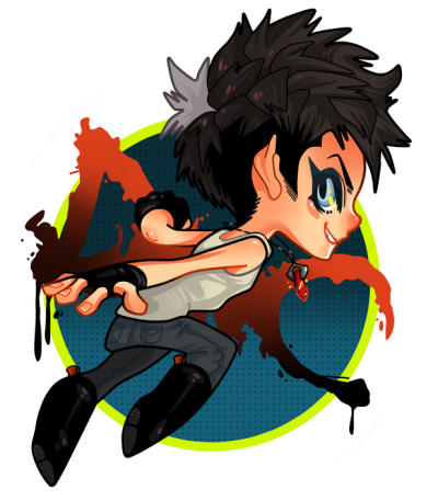 AH itty bitty Dante. Might make this into a keychain or sticker, would anyone buy one? Heheh…! Maybe I'll do Vergil and Kat too.