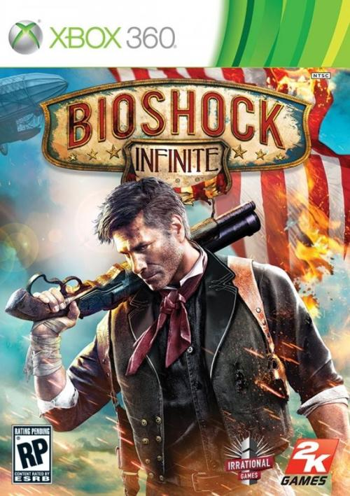 BioShock Infinite (Xbox 360, PlayStation 3, Windows) The only hint of any originality that this game is undoubtedly brimming with is the tiny little airship in the corner.
