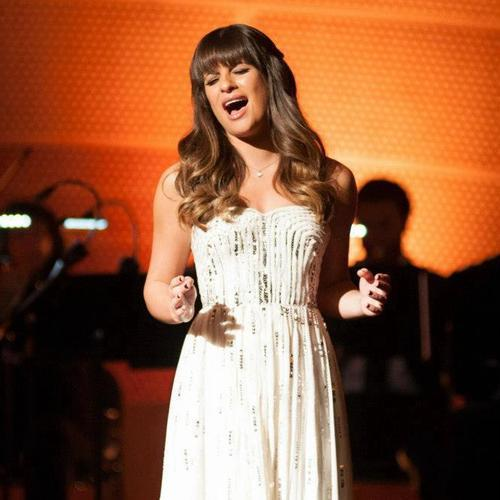 lea michele - Glee -  O Holy Night