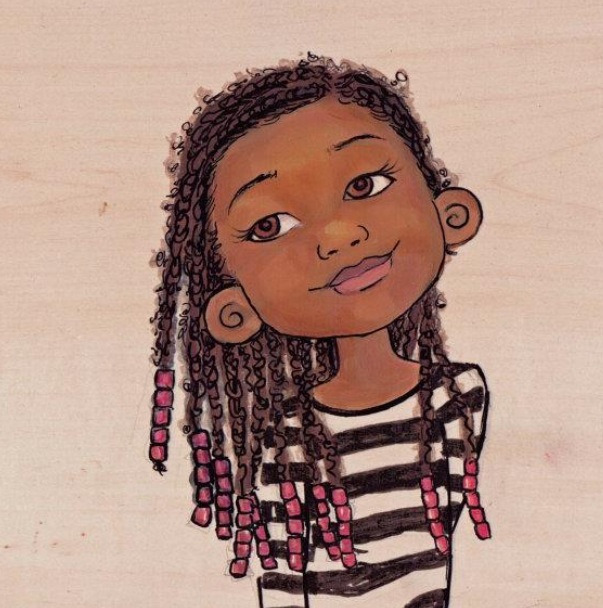 so-treu:  theblackamericanprincess:  I love that her braids are a lil fuzzy :)  OMG YES
