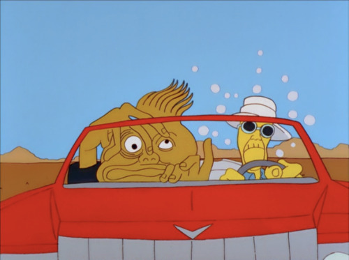 zeebugjones:  Simpsons parody of Fear & Loathing in Las Vegas.
