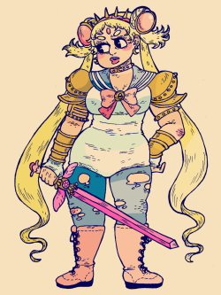 witchlette:  Pretty Warrior Sailor Moon