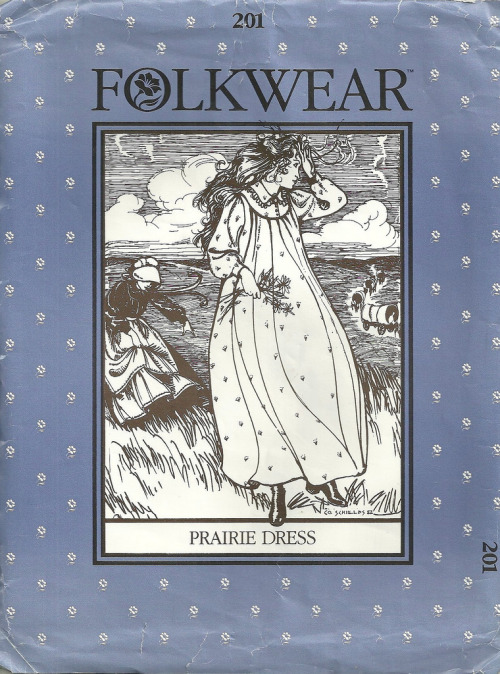andreabarja:  Folkwear 201 Prairie Dress and Apron (por patterngate)
