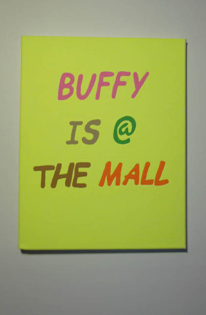 pitchrail:  Buffy is @ the mall, Grace Miceli