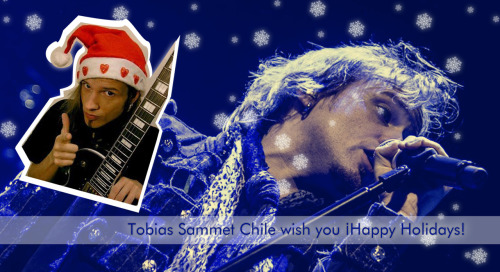 Tobi Sammet Chile wish you a very nice Holidays !  https://www.facebook.com/pages/Tobias-Sammet-Chile/466798926685948