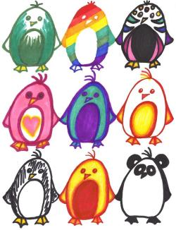 Penguin Adoptibles by ~ZIM402