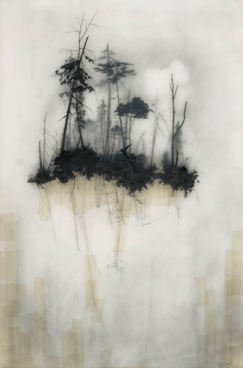 Brooks Salzwedel - Reflection (2010) - Mixed media