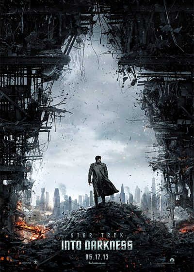 Official Poster for Star Trek Into Darkness