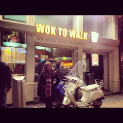 🔥#amsterdam #food #woktowalk (at Wok To Walk)