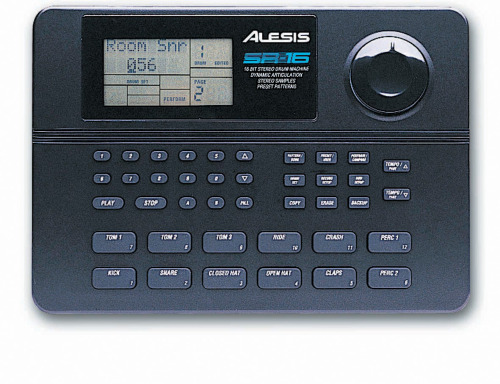 thingsmagazine:  The enduring object: the Alesis SR-16 drum machine, 1991