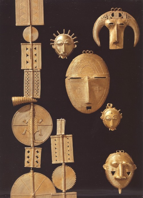 theeducatedfieldnegro:  19th century gold from the Ivory Coast