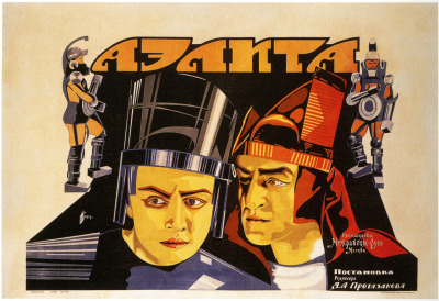 "Aelita: Queen of Mars (Yakov Protazanov, 1924), aka ""the first Russian science fiction movie."" Watch it in full on YouTube. (via BoingBoing)"