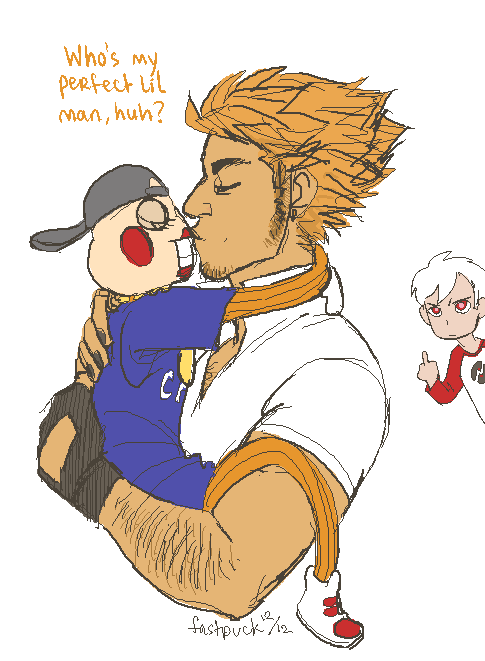 fastpuck:  more obnoxious dude loving a puppet way too much  WOW I'M GONNA