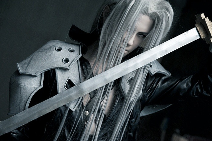 sorayami:  Kurokarasu Kou as Sephiroth Photo by Kirishima