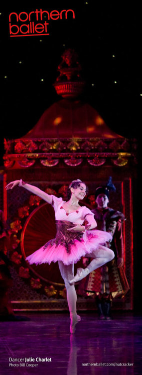 Julie Charlet as the Sugar Plum Fairy in Northern Ballet's The Nutcracker. Photo Bill Cooper.