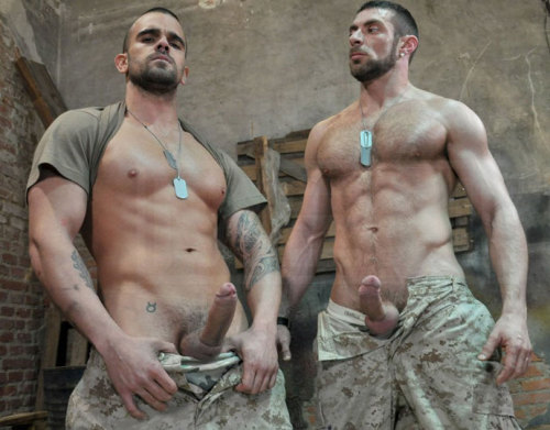 "buzzofpd:  Erect Buddies.  Hot Gay Pics: FOLLOW Tumblr site ""Beautiful Cocks"" and VISIT Archive"