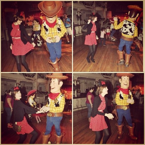 Howdy (dance) partner! (Sorry Disney, I'm not going to buy your pictures, I'll just screenshot the pixelated previews.)