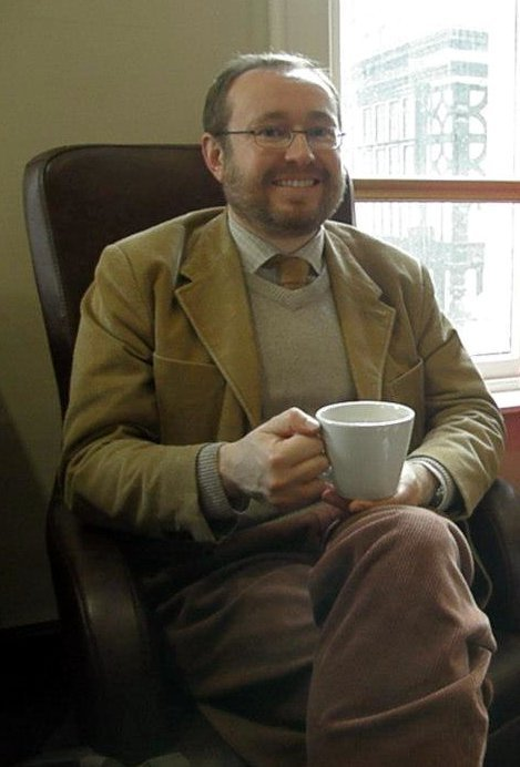 beardedmeninknittedthings:  Austen: Me having a coffee in Waterstones in Manchester. you look ever so dapper! thanks for submitting :)