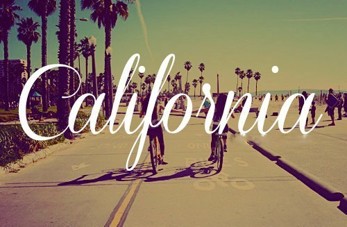 I've never been to Cali but the day I do my life will be perfect.