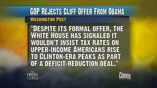 GOP Rejects Fiscal Cliff Offer from President Obama