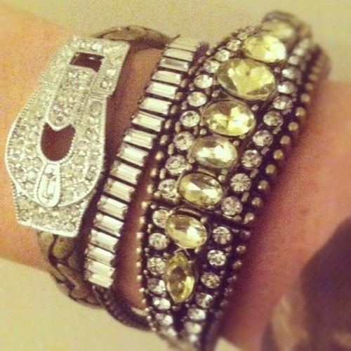 Today's Arm Candy #chloeandisabel #armcandy #armswag #fashion #jewelry #fashionista #fashiondiaries #shopping #bracelets #instastyle #instafashion #style #streetstyle #glam #retro #vintage #trend #photooftheday #picoftheday #beautiful  (at Chloe + Isabel by Liz)