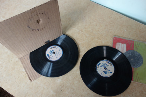 wnyc:  The 11-cent record player (including two discs!!). Check out this Indian cardboard disc player in action, courtesy of the Archive of Contemporary Music.