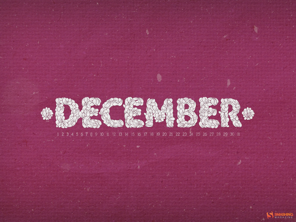 December desktop wallpaper by Benga