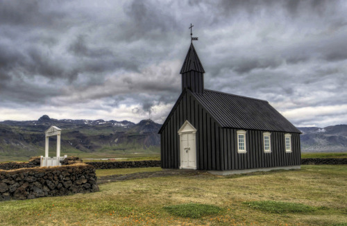 """The black Church,"" Iceland"