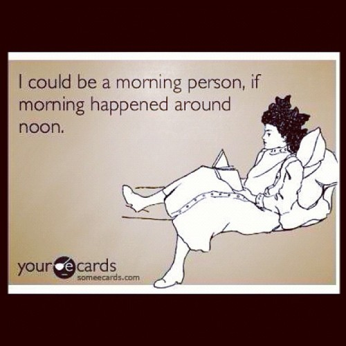 So true #hatemornings