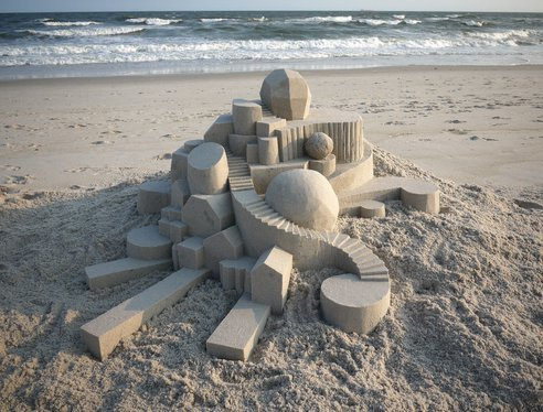 (via Architectural Sand Castles are Geometric Wonders : TreeHugger)