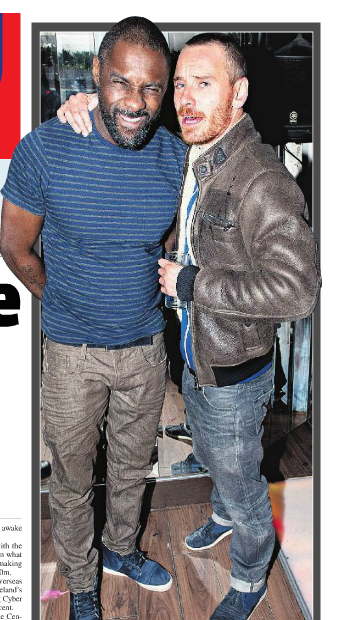 Idris Elba and Michael Fassbender let their hair down at Bucks Townhouse Leeson Street where the Wire actor performed a DJ Set.  via Metro Herald e-edition