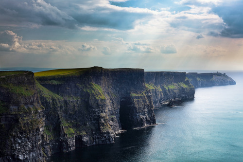 """Cliffs of Moher,"" Ireland"