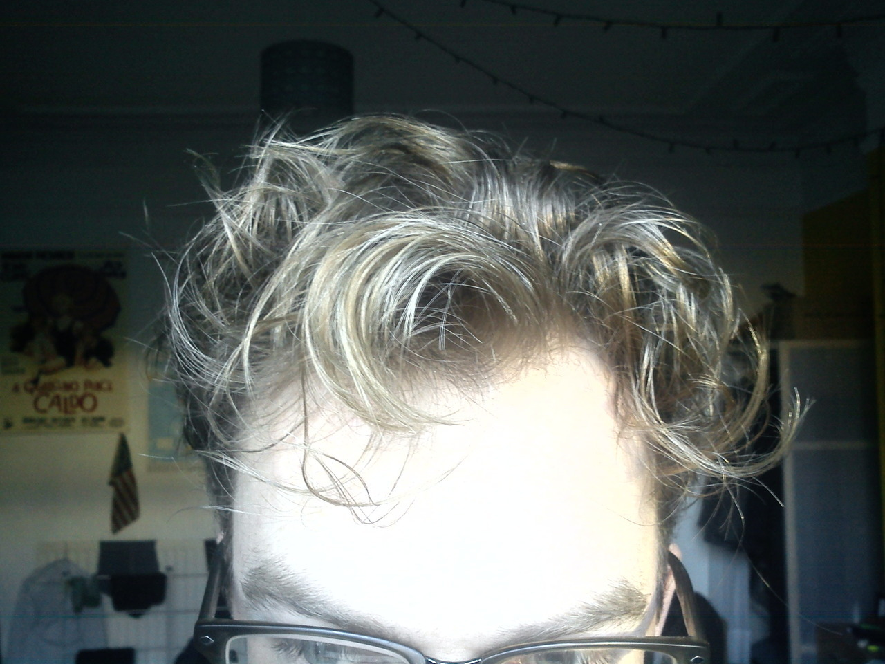 Shan't have to style my hair today.