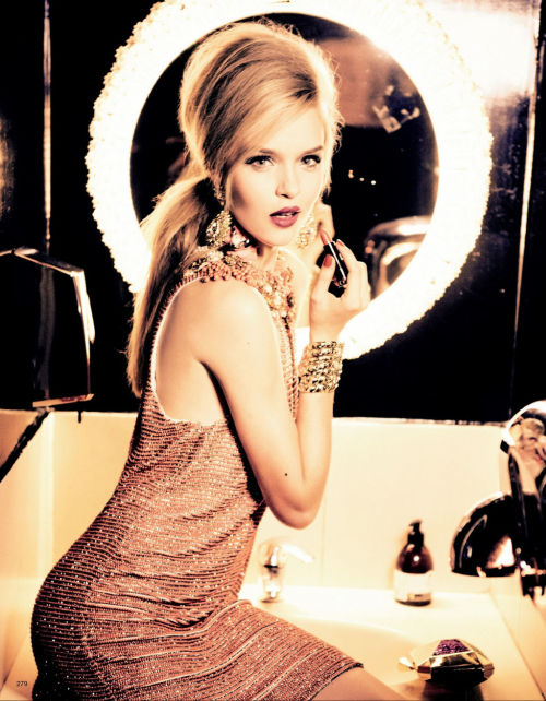 pretaportre:  Josephine Skriver in 'Party Dolls' by Ellen Von Unwerth for Vogue Japan January 2013.